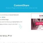 7 Free jQuery Social Sharing Plugins