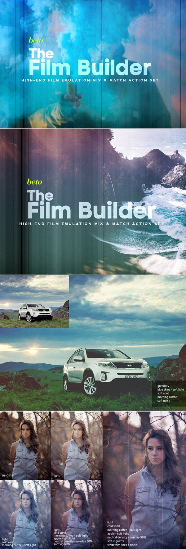 The Film Builder Photoshop Action