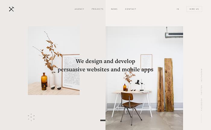 web designer portfolios belle epoque