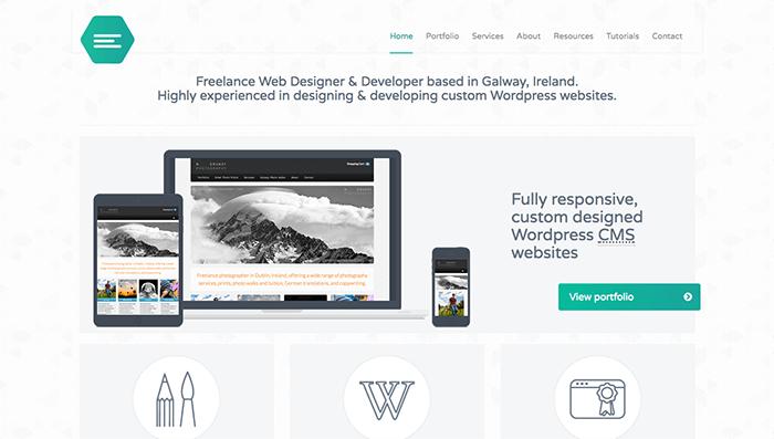 web designer portfolio emily ridge