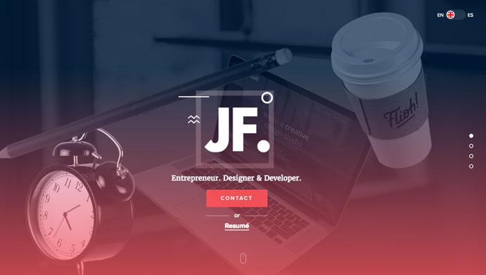 web designer portfolios juan ferraras