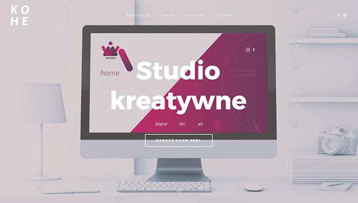 web designer portfolio site kohe