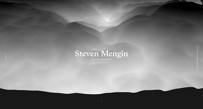 web designer portfolios steven mengin