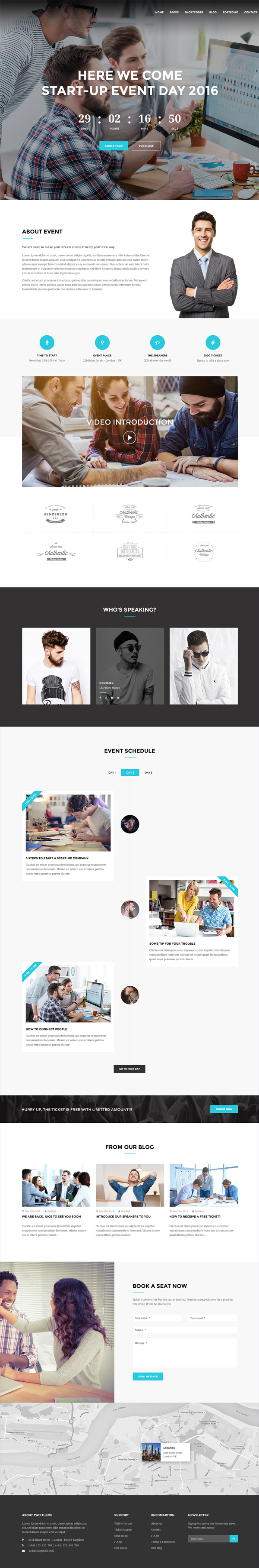 Free Multipurpose PSD Template