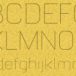 Fresh Free Font Of The Day : Luxury