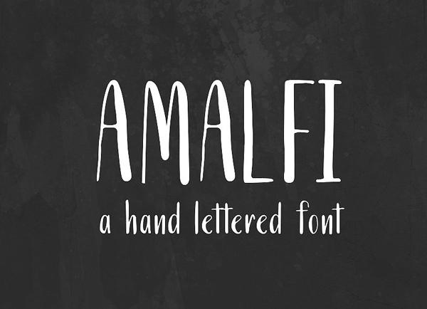Amalfi Free Font