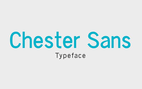 Chester Sans Light Free Font