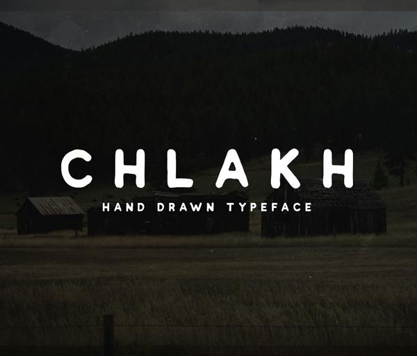 Chlakh Free Font