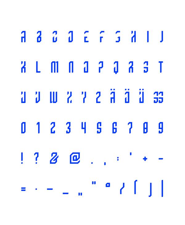 GRAD Free Font Letters