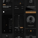 20 Free Modern UI Design Elements & PSD UI Kits Download