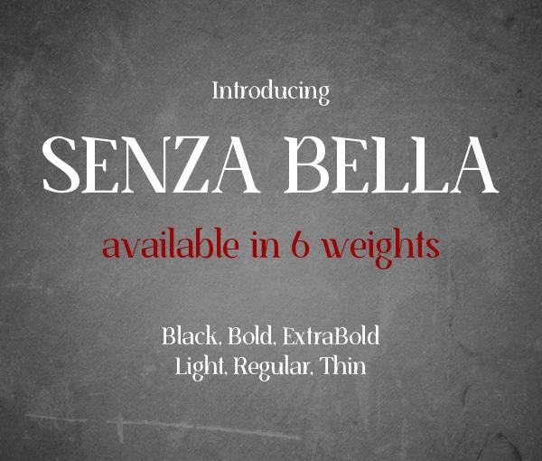 Senza Bella Free Font