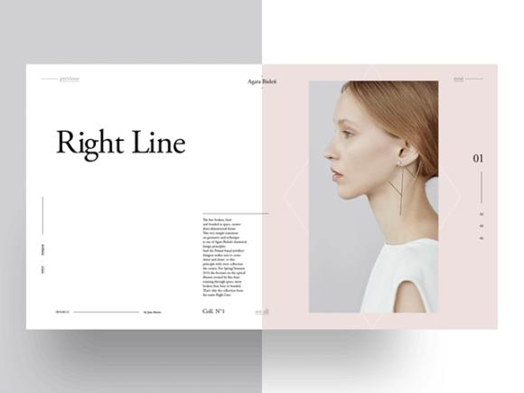 Agata Bielen - Free PSD template