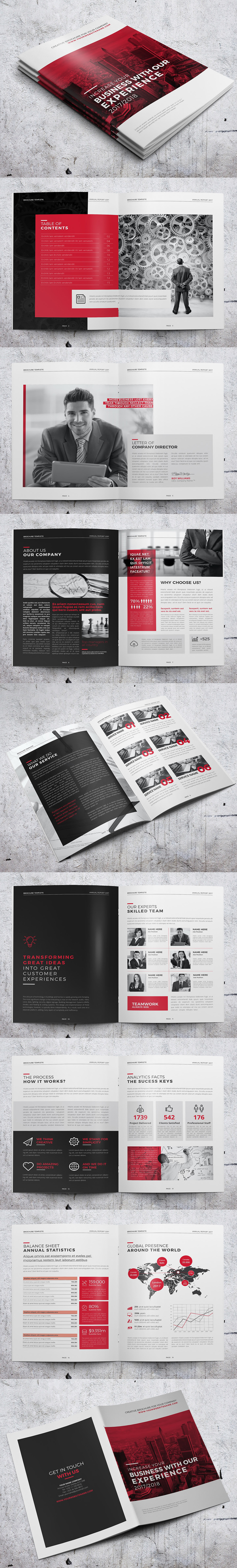 Corporate Clean Brochure / Annual Report Design