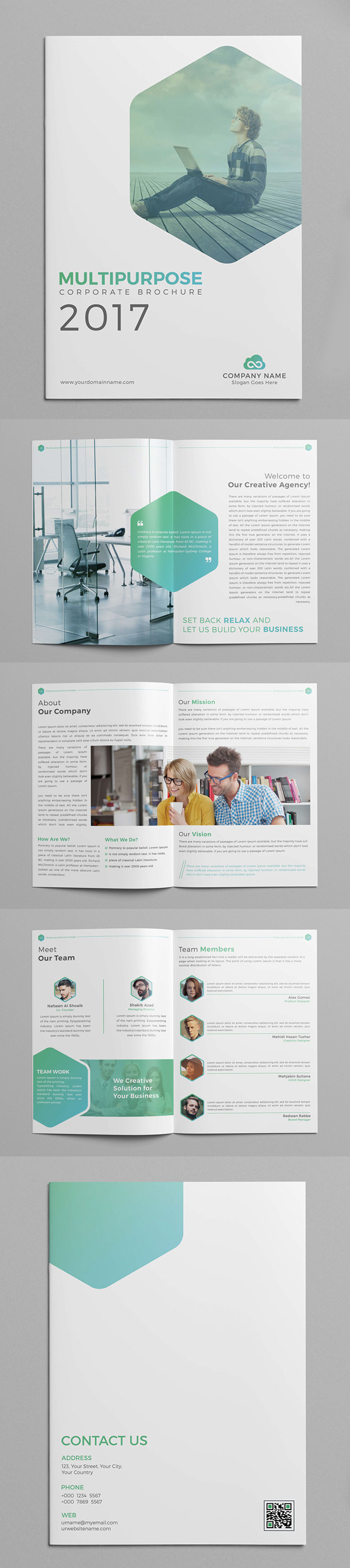 Multipurpose Company Profile Brochure Template