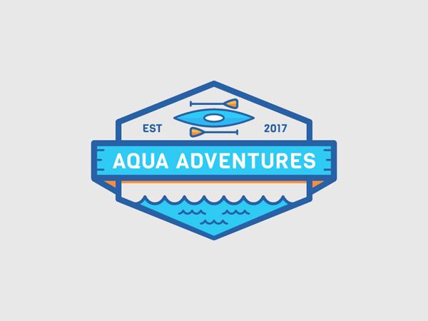 35 Awe-Inspiring Badge & Emblem Logo Designs - 1