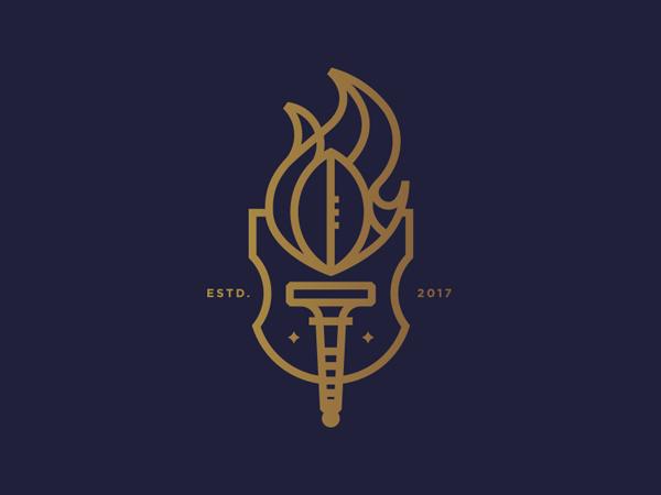 35 Awe-Inspiring Badge & Emblem Logo Designs - 24