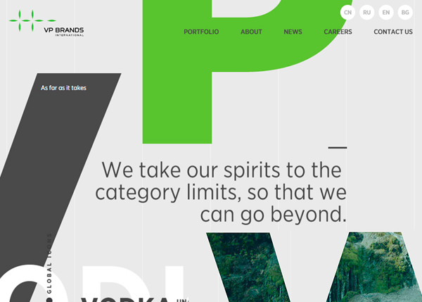 Websites Design with Parallax Effect - 32 Creative Examples - 12