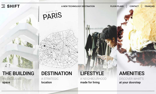 Websites Design with Parallax Effect - 32 Creative Examples - 15