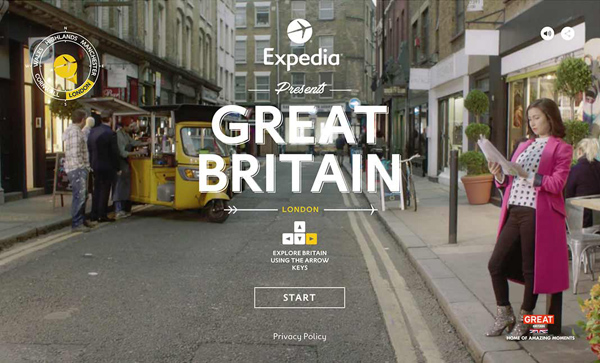 Websites Design with Parallax Effect - 32 Creative Examples - 20