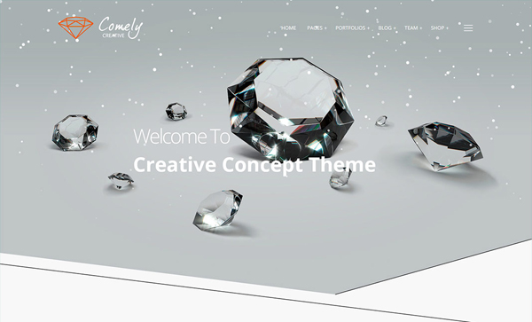 Websites Design with Parallax Effect - 32 Creative Examples - 23