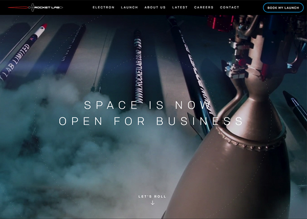 Websites Design with Parallax Effect - 32 Creative Examples - 26