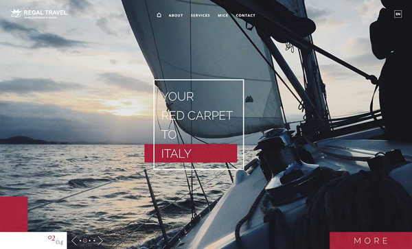 Websites Design with Parallax Effect - 32 Creative Examples - 30