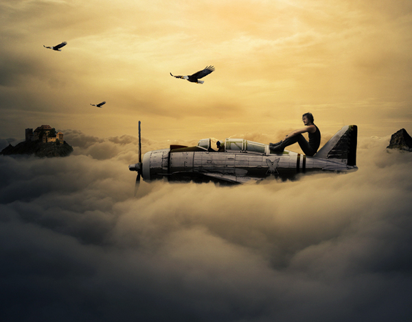 Learn How to Photo Manipulation Co-Pilot Photoshop CC Tutorial