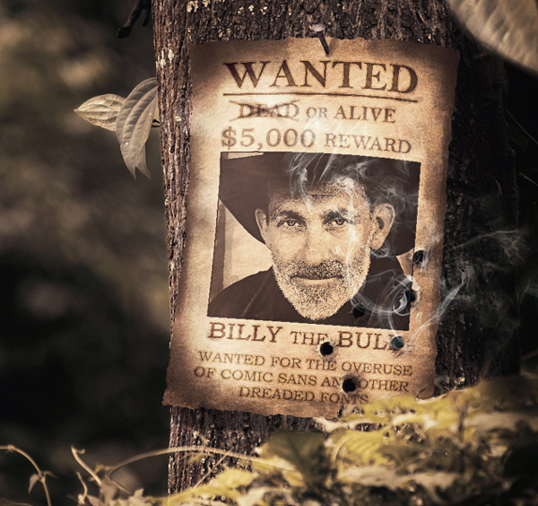 How to Create a Wanted Poster Photo Manipulation in Adobe Photoshop