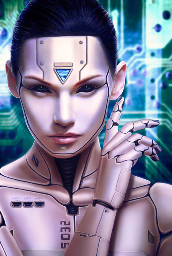 How to Create a Human Cyborg Photo Manipulation in Adobe Photoshop