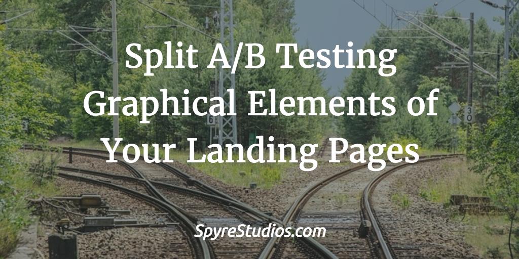 a/b testing landing page
