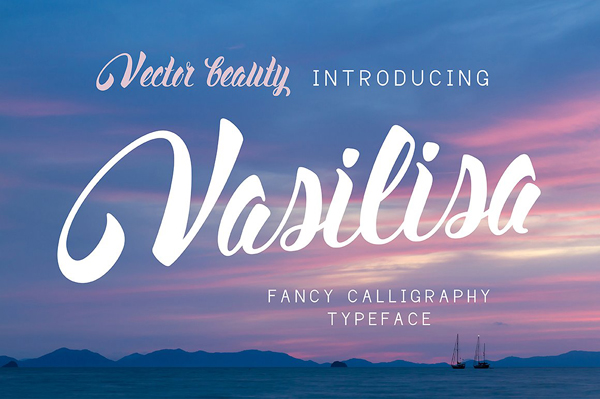 Vasilisa Vintage Calligraphy Font
