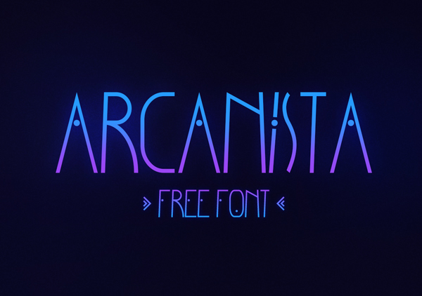 Arcanista Free Font