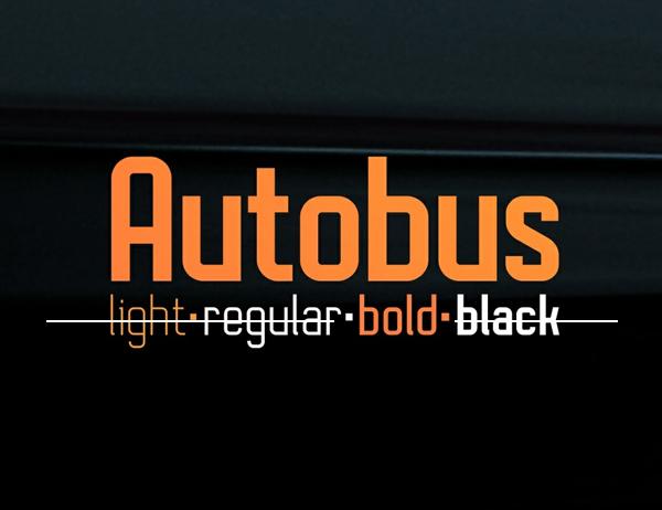 Autobus Free Font