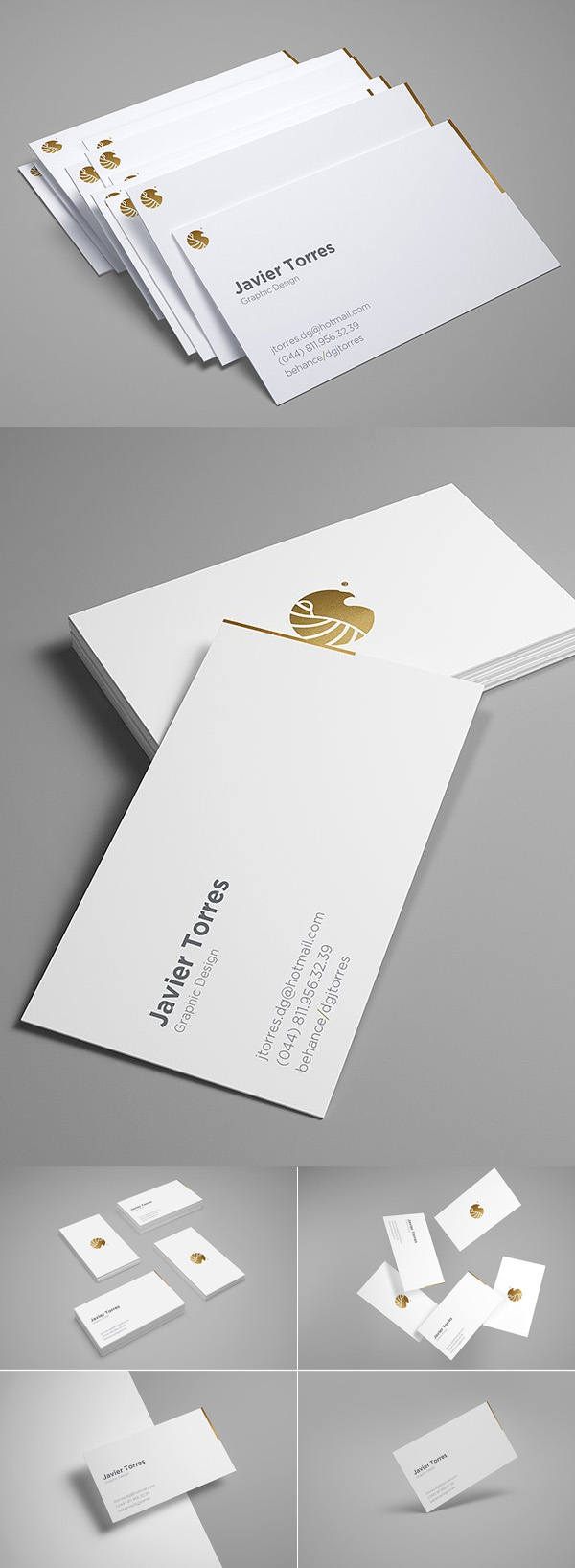Business Cards Mockup Professional