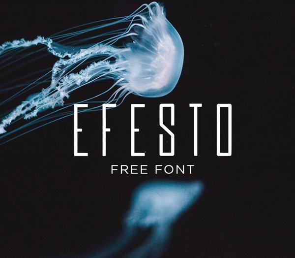 Efesto Free Font