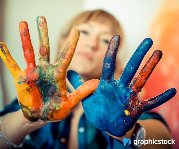 Colorful Handpaint
