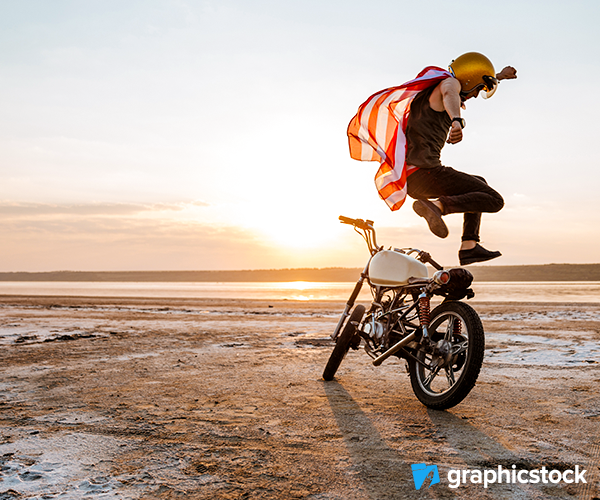 Motorcycle Riding Photo
