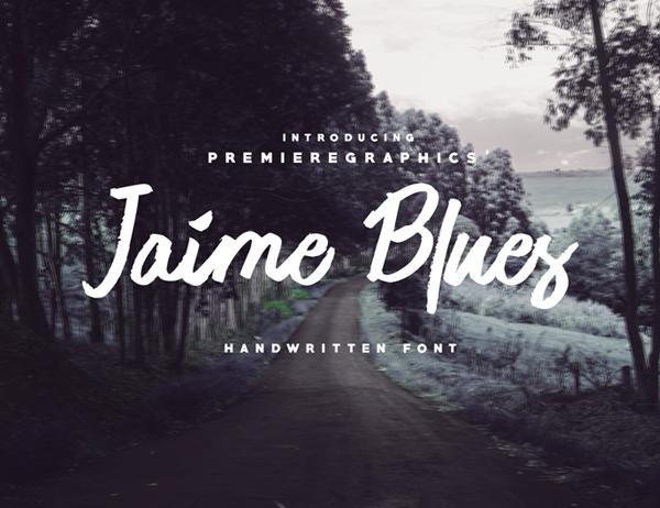 Jaime Blues Free Font