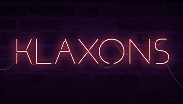 Klaxons Free Font