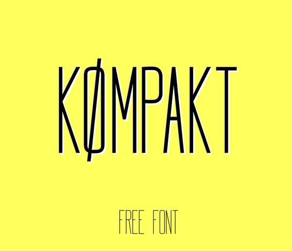 Koempakt Free Font