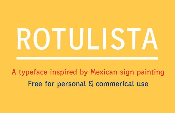 Rotulista Free Font