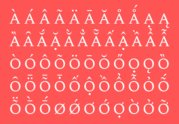 Spectral Free Font Letters