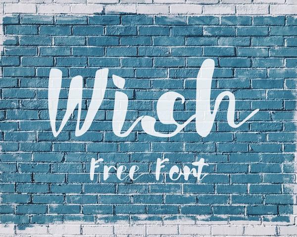 Wish Free Font