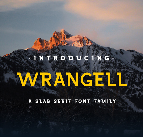 Wrangell Free Font Download
