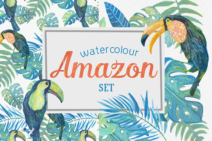 summer website themes amazon clipart