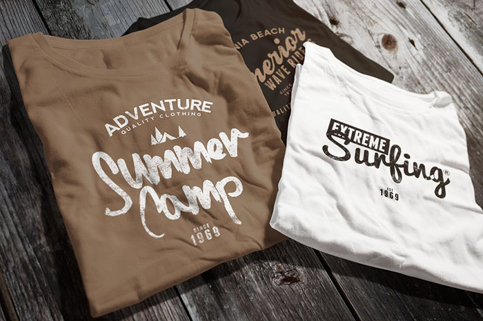 summer website themes shirt logo