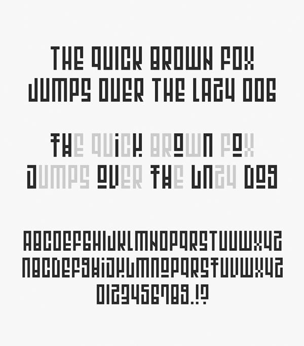 Escape Font Letters