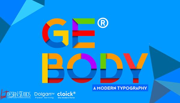 GE BODY Free Font