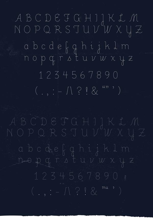 Lucinda Font Letters