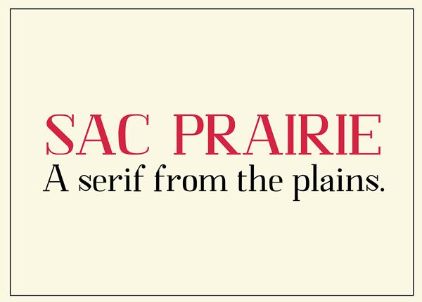 Sac Prairie Free Font